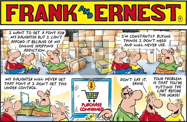 Frank and Ernest on Sunday October 6, 2019 Comic Strip