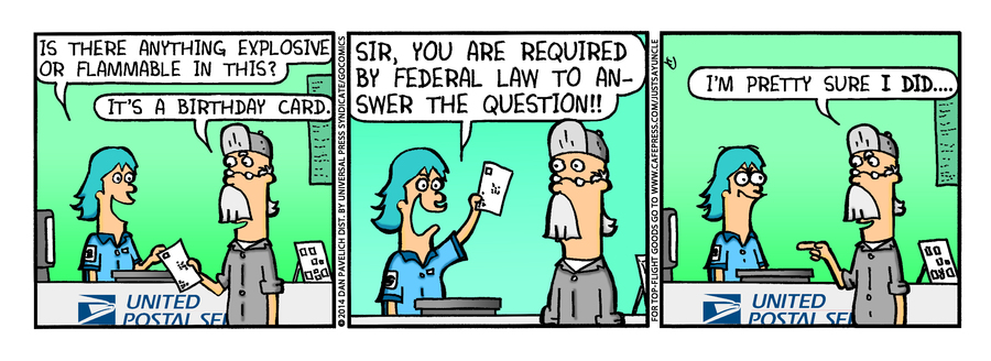 Just Say Uncle for Mar 10, 2014 Comic Strip