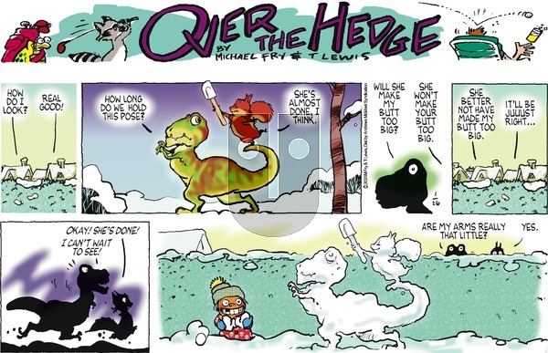 Over the Hedge on Sunday January 26, 2020 Comic Strip