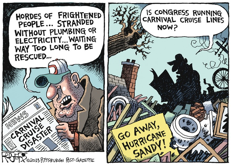 Rob Rogers Comic Strip for February 17, 2013