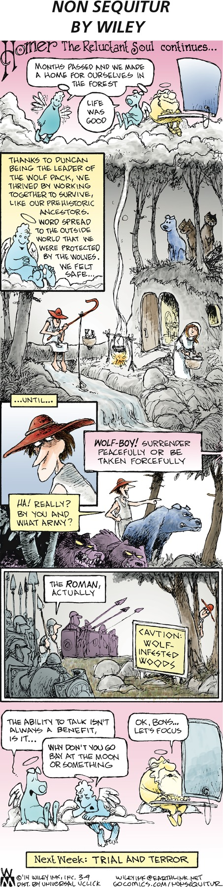 Non Sequitur Comic Strip for March 09, 2014