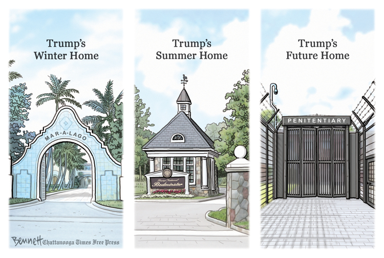 Clay Bennett Comic Strip for May 30, 2021