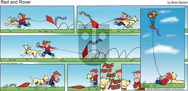 Red and Rover on Sunday April 4, 2021 Comic Strip