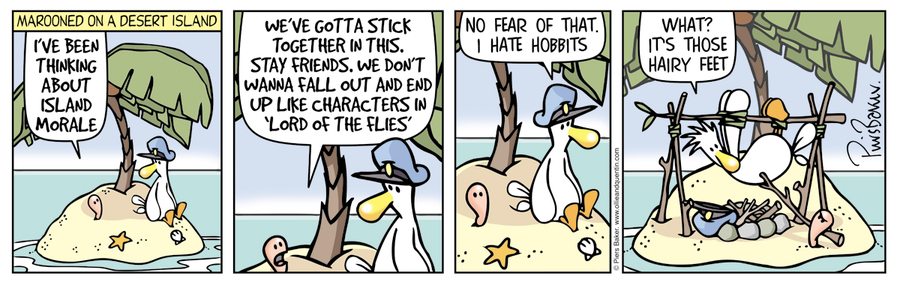 Ollie and Quentin Comic Strip for March 10, 2016