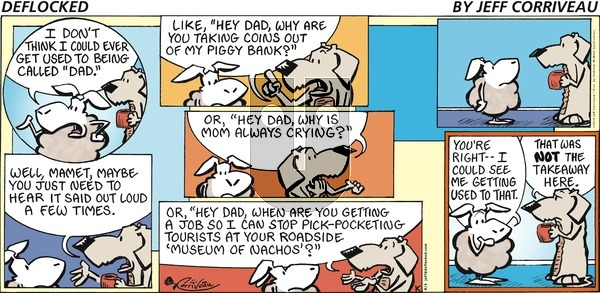 DeFlocked on Sunday August 4, 2019 Comic Strip