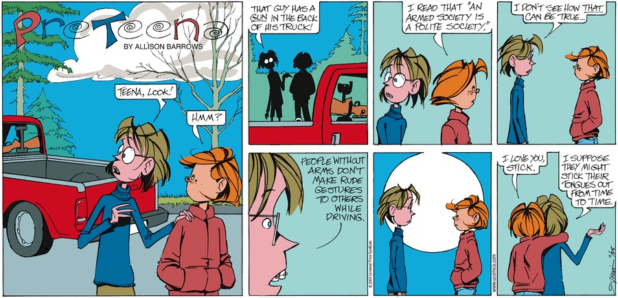 PreTeena Comic Strip for March 10, 2019