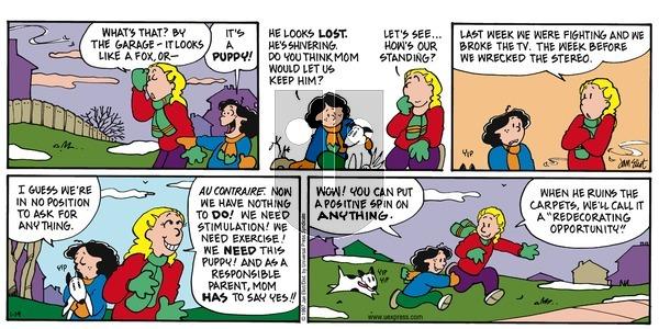 Stone Soup - Sunday January 19, 1997 Comic Strip