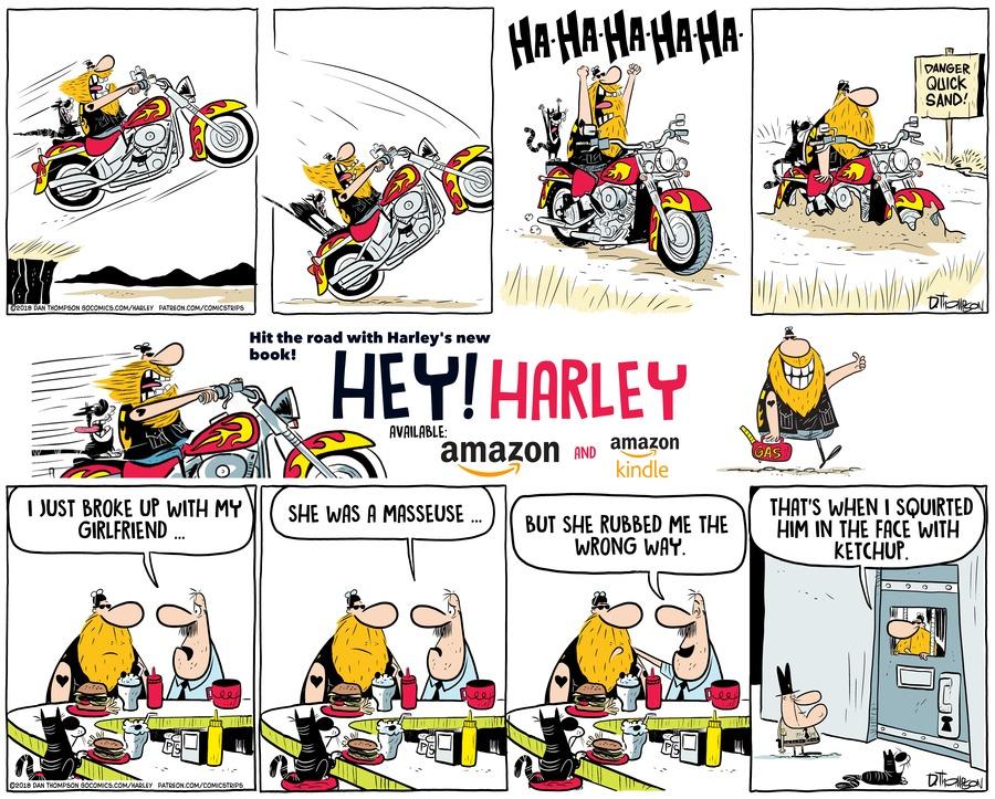 Harley Comic Strip for September 27, 2020
