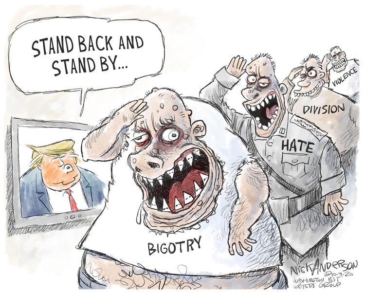 Nick Anderson Comic Strip for October 04, 2020