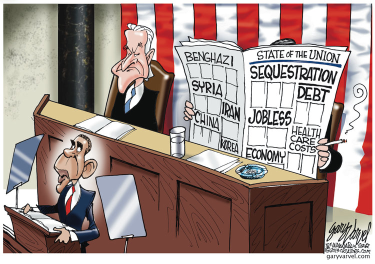 Gary Varvel Comic Strip for February 12, 2013