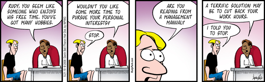 Rudy Park Comic Strip for May 21, 2019