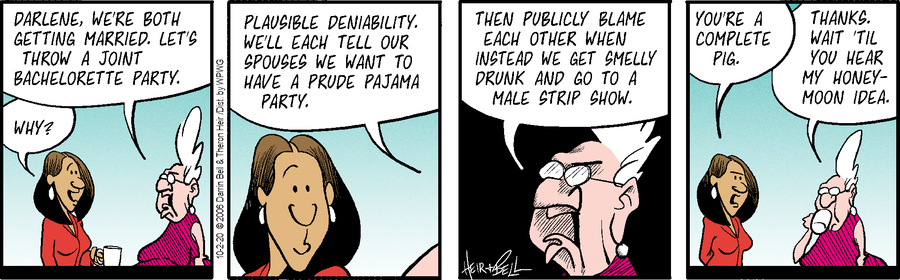 Rudy Park Comic Strip for October 02, 2020