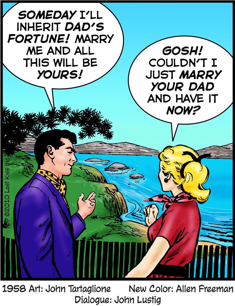 Last Kiss Comic Strip for June 18, 2021