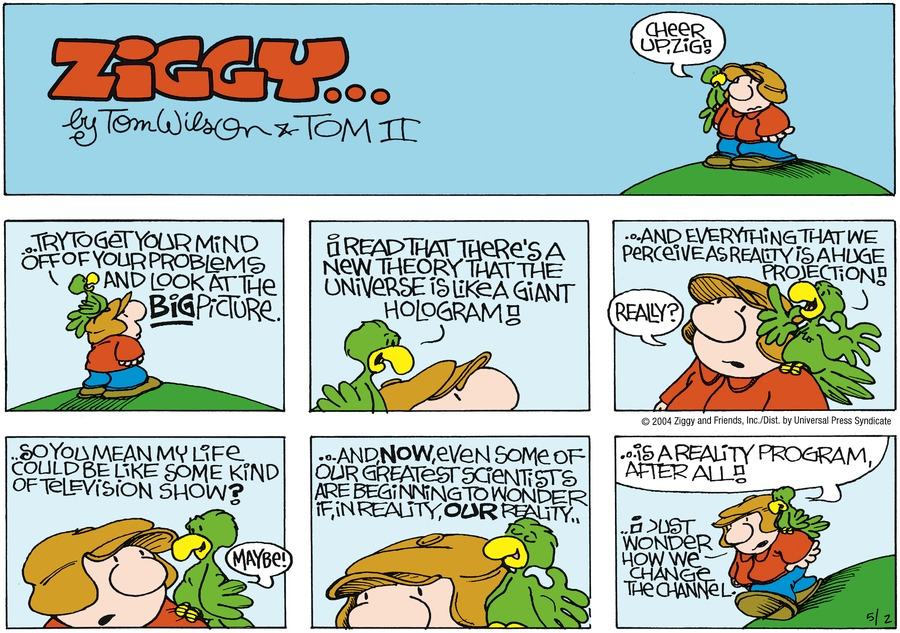 Ziggy for May 2, 2004 Comic Strip
