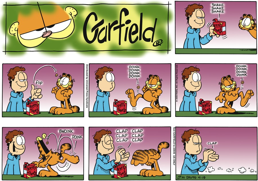 Garfield Comic Strip for April 19, 2009