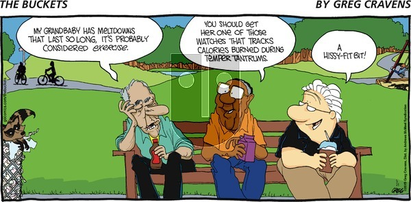 The Buckets on Sunday June 23, 2019 Comic Strip