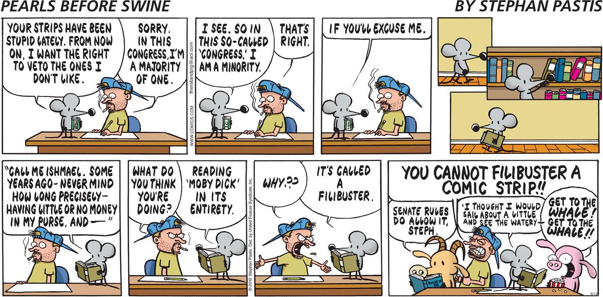 Pearls Before Swine Comic Strip for June 13, 2010