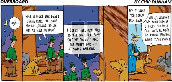 Overboard on Sunday April 3, 2005 Comic Strip