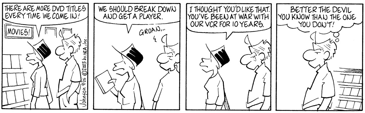 Arlo and Janis for Sep 25, 2003 Comic Strip