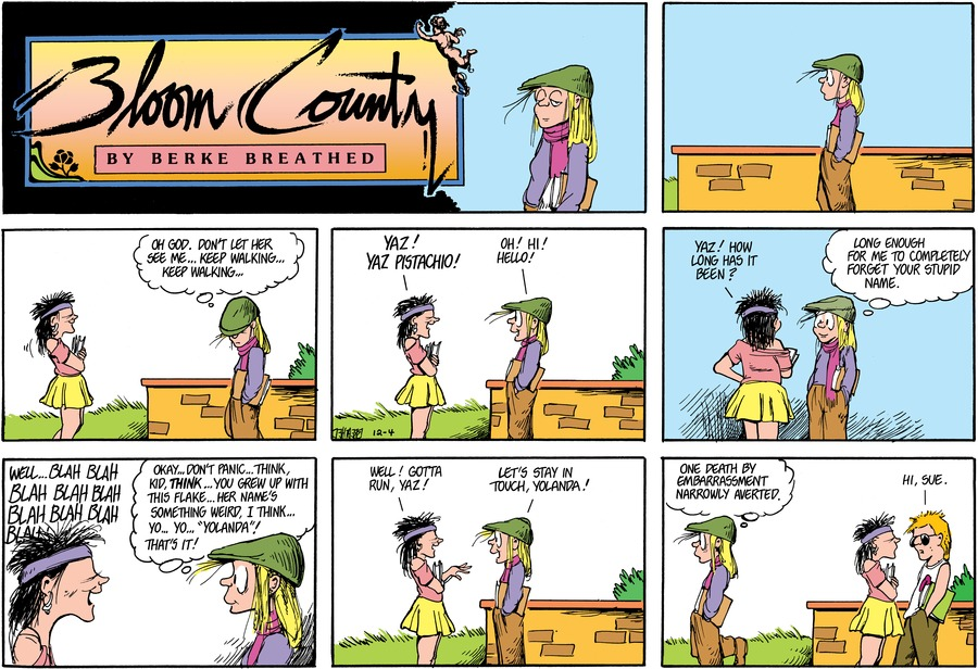 Bloom County Comic Strip for September 26, 2019