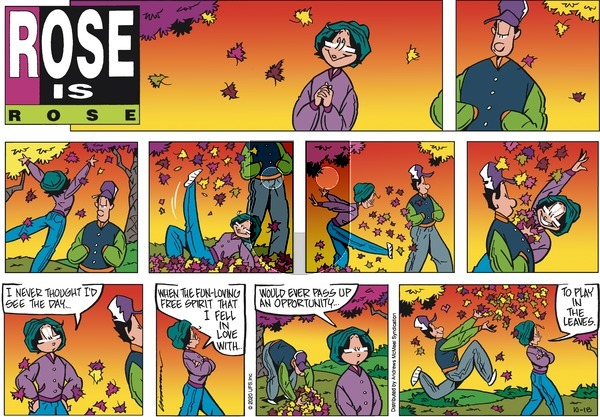 Rose is Rose on Sunday October 18, 2020 Comic Strip