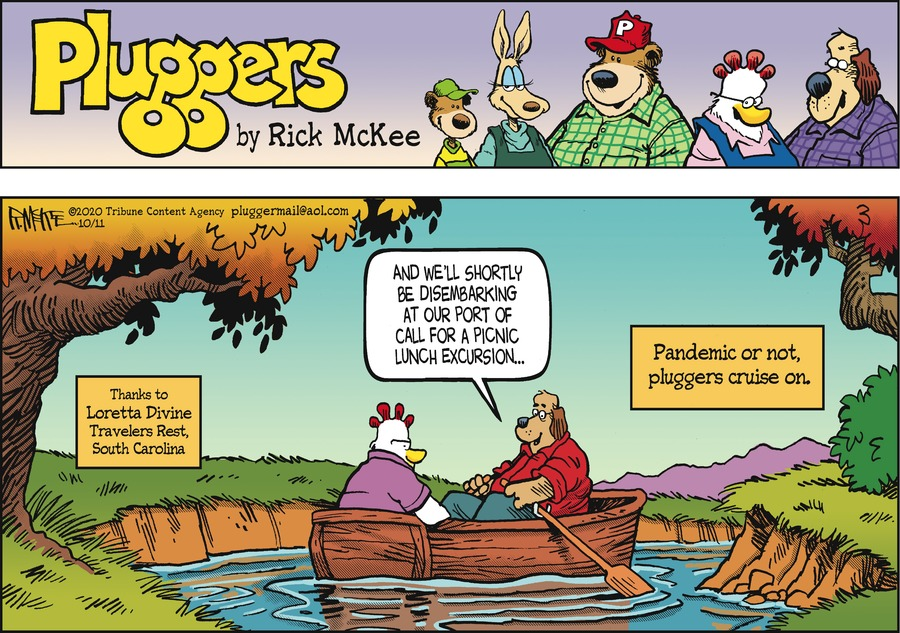 Pluggers Comic Strip for October 11, 2020