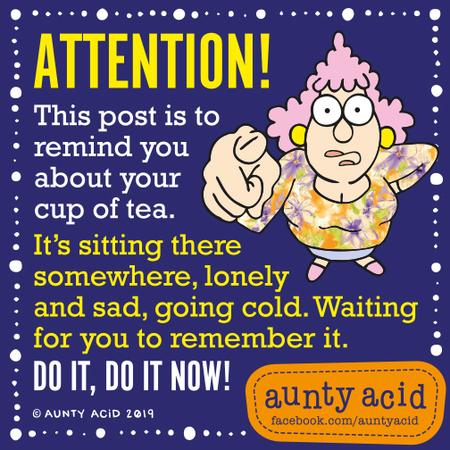 Aunty Acid Comic Strip for August 12, 2019