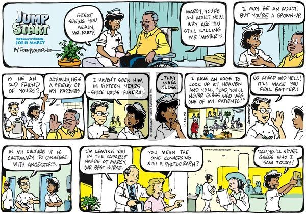 JumpStart on Sunday November 15, 1998 Comic Strip