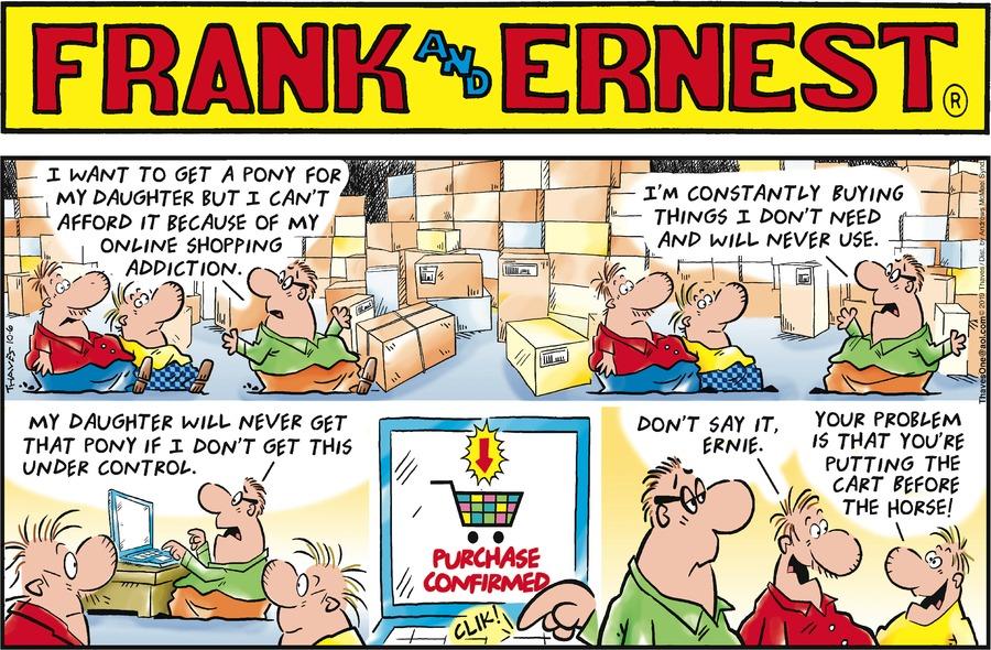 Frank and Ernest Comic Strip for October 06, 2019