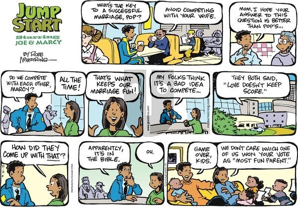 JumpStart on Sunday September 6, 2015 Comic Strip