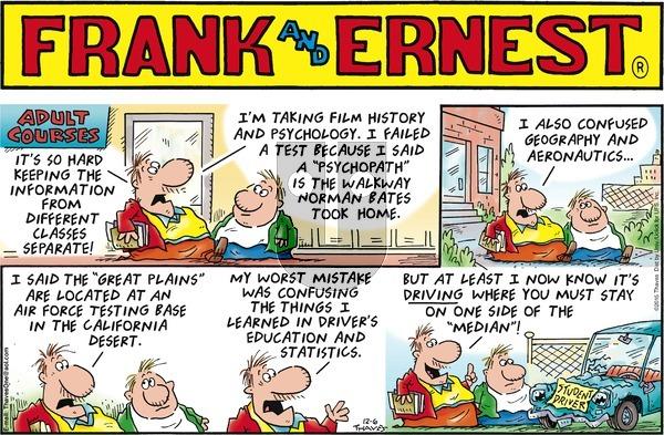 Frank and Ernest on Sunday December 6, 2015 Comic Strip