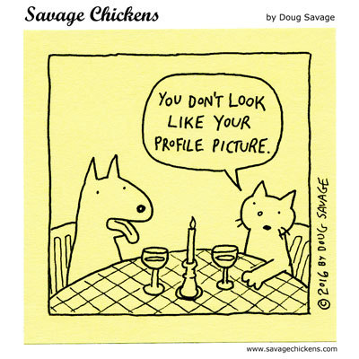 Savage Chickens Comic Strip for June 08, 2020