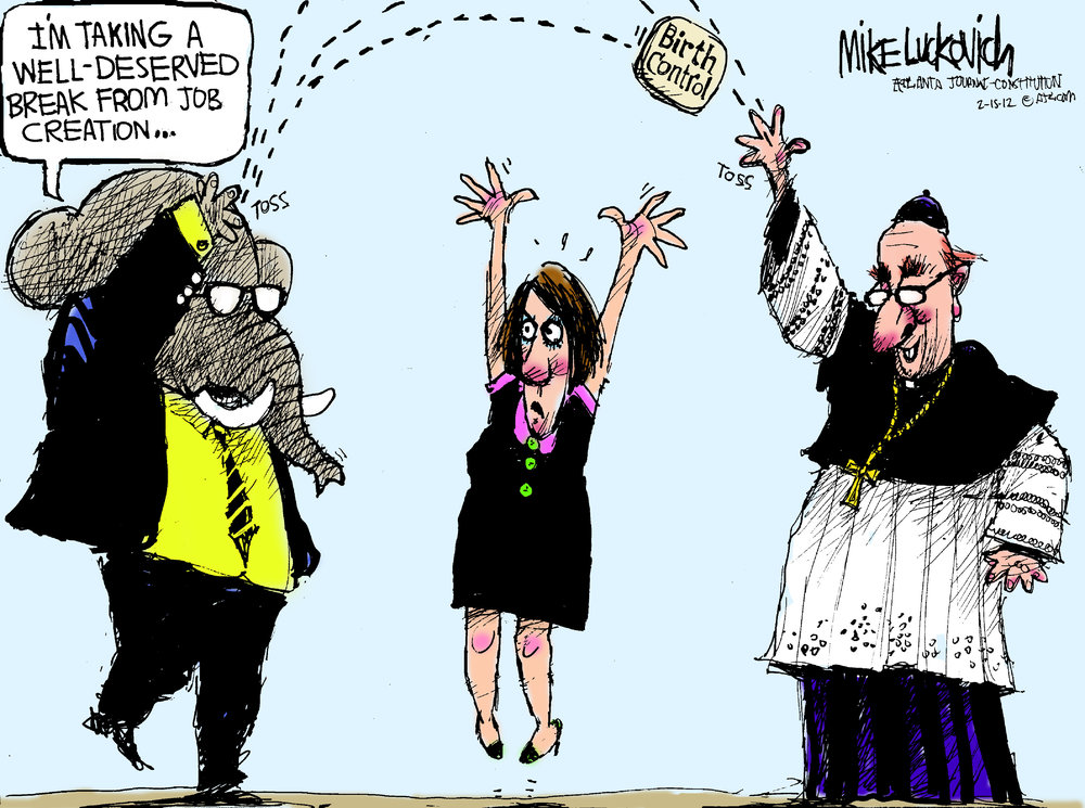 Mike Luckovich Comic Strip for February 15, 2012