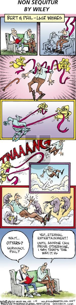 Non Sequitur on Sunday January 5, 2020 Comic Strip