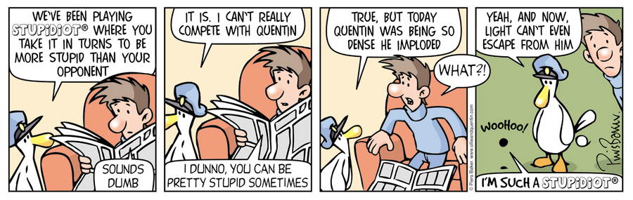 Ollie and Quentin Comic Strip for March 12, 2016