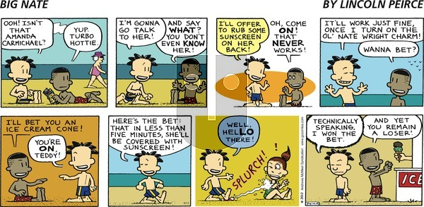 Big Nate on Sunday August 13, 2017 Comic Strip