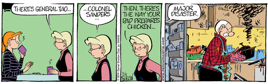 Ben Comic Strip for February 15, 2014