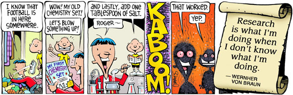 Brain Squirts Comic Strip for July 30, 2020