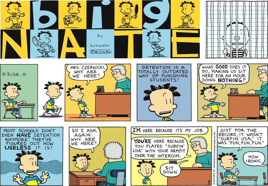 Big Nate Comic Strip for May 05, 2013