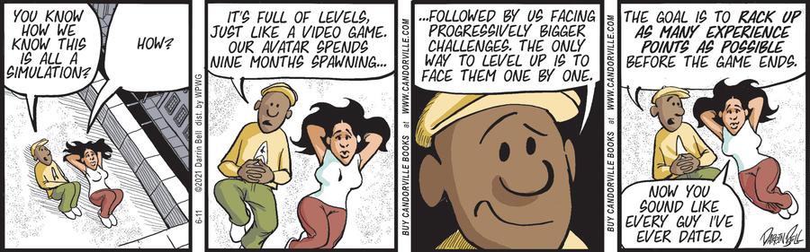 Candorville Comic Strip for June 11, 2021