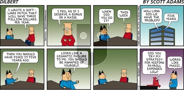 Dilbert on Sunday June 7, 2020 Comic Strip