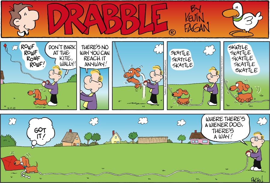 Drabble Comic Strip for April 11, 2021