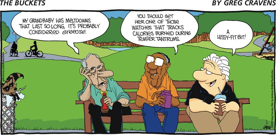 The Buckets Comic Strip for June 23, 2019