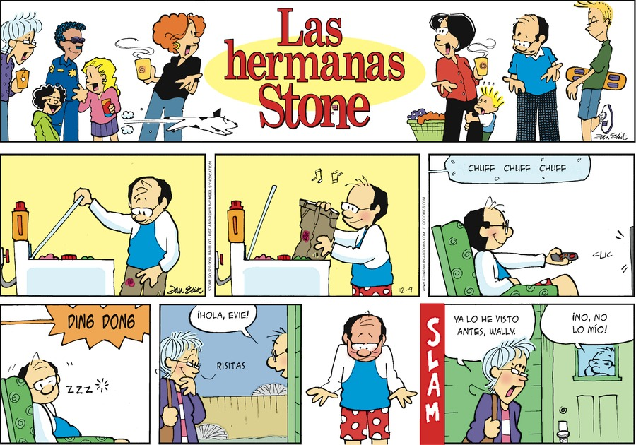 Las Hermanas Stone Comic Strip for December 09, 2018