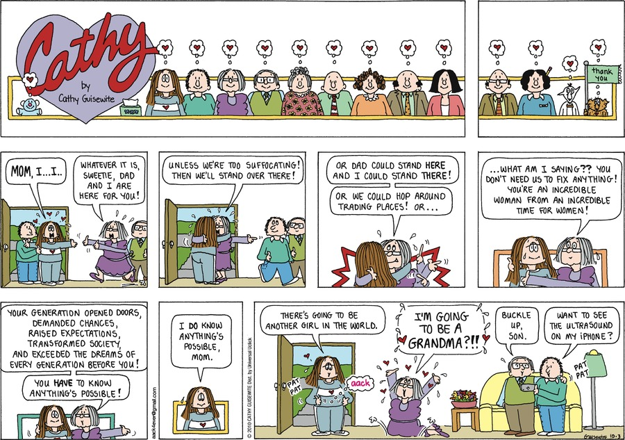 Cathy Comic Strip for October 03, 2010