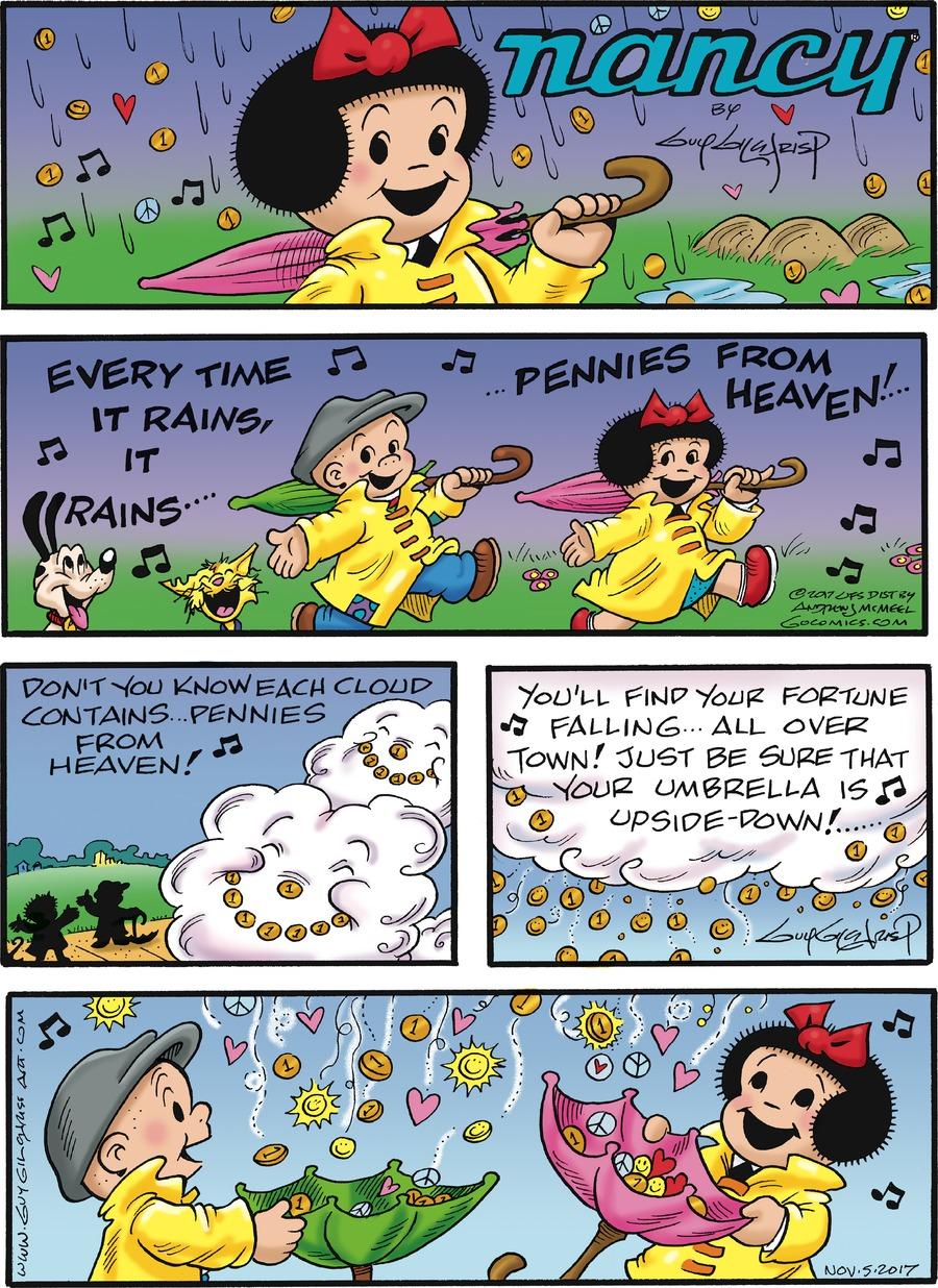 Nancy for Nov 5, 2017 Comic Strip