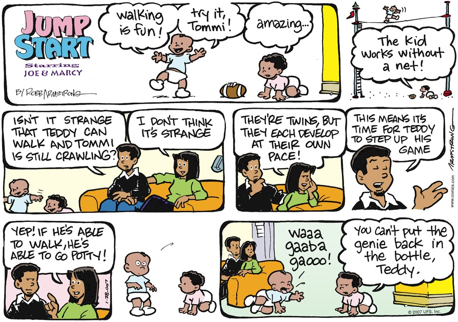 JumpStart Comic Strip for January 28, 2007