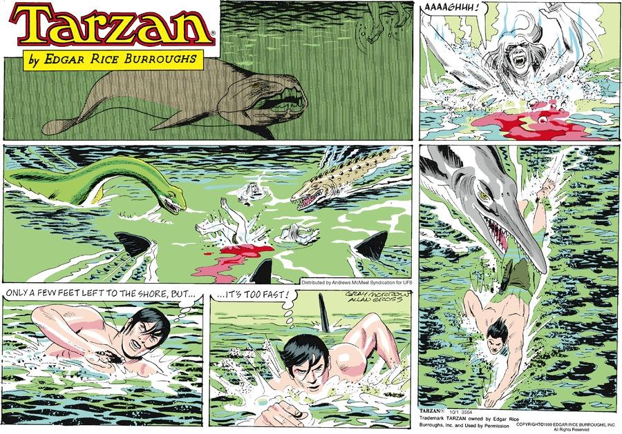 Tarzan for Oct 1, 2017 Comic Strip