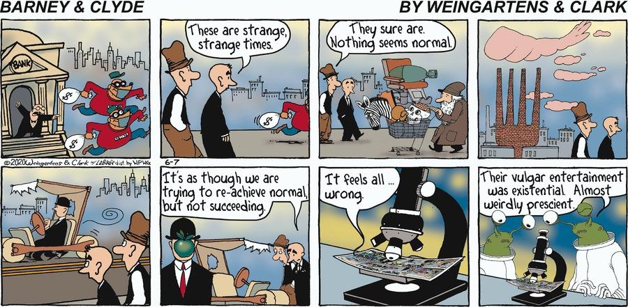 Barney & Clyde by Gene Weingarten, Dan Weingarten & David Clark on Sun, 07 Jun 2020