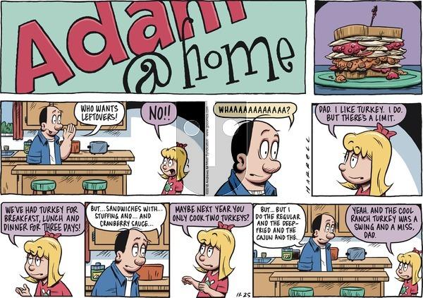 Adam@Home on November 25, 2018 Comic Strip